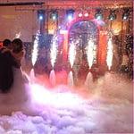 Γαμήλια γιορτή & εφέ καπνού με ξηρό πάγο