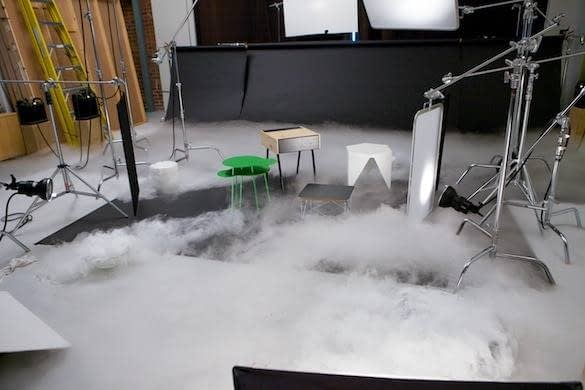 ΕΦΕ Χαμηλής Ομίχλης σε studio