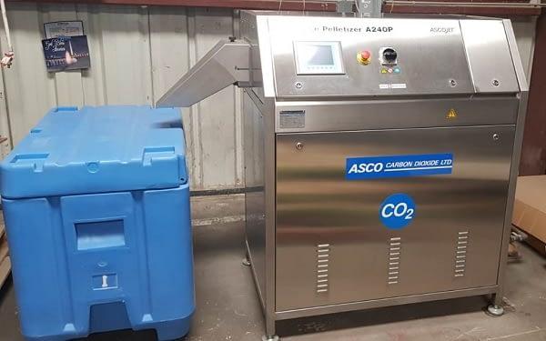 Μηχανή παραγωγής ξηρού πάγου AscoJet A250