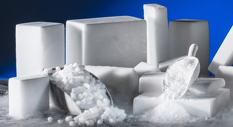 Ξηρός πάγος σε pellets & blocks