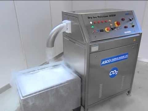 Μηχανές παραγωγής ξηρού πάγου