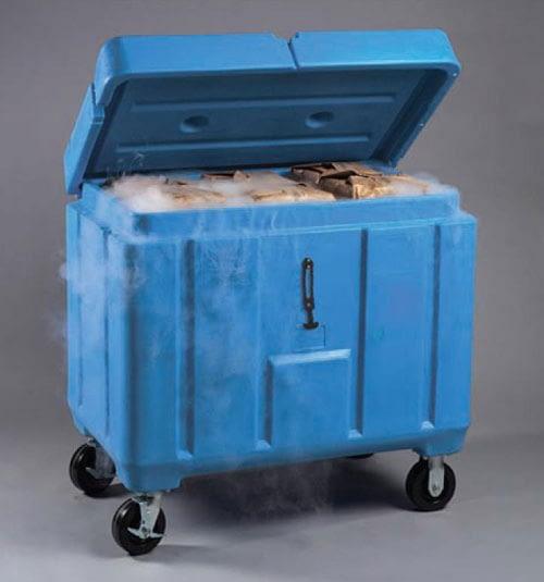 Container ξηρού πάγου
